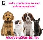 AloeVeraSanté avec LR Health & Beauty nos produits Aloe vera pour les animaux