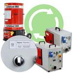 Verstärker für Einblasmaschinen