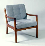 Armchair 'Senator' Ole Wanscher for France & Son.