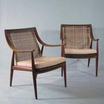 Armchairs design Peter Hvidt & Orla Mølgaard-Nielsen for France & Son.