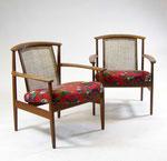 Armchairs design Folke Ohlsson for 'Bra bohag'.