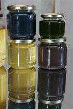 Le fameux miel de couleur