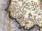 Cartina antica del Cilento