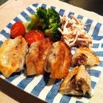レタス レシピ 餃子