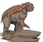 Bild eines Gargoyleosaurus