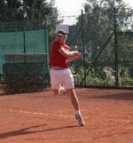 Mike Wiezorek konnte sich bei den Regionalmeisterschaften 2 der Herren bis ins Hauptfeld spielen.