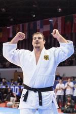 Andreas gewann bei den olympischen Spielen 2012 in London die Bronzemedaille