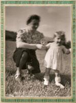Tante Käthe mit Helga