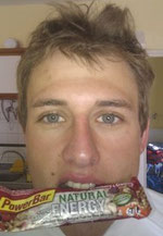 Powerbar Riegel: Sweet'n Salty Seeds & Pretzels :-)