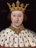 Richard II.Par Inconnu. National Portrait Gallery: NPG 4980(8)Bien que les règles de Commons autorisent l'utilisation de ce fichier, une ou plusieurs tierces-parties ont revendiqué un droit d'auteur à l'encontre de Wikimédia Commons, en lien avec l'œuvre