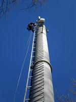 LTE Antennenmontage, Industriekletterer