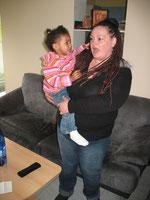 Mutter Nicole* und Lia*