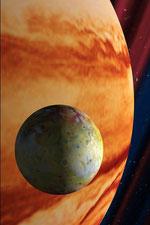 Planets placed in orbit around sun