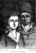 Louis XVII et Antoine SIMON