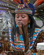 Südamerikanische Schamanin, Bild von flickr User awsheffield