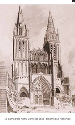 cathédrale séez orne france