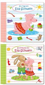 """Pappenbuch """"Ella Schwein"""", Cover"""