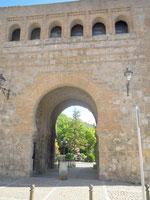 Burgos (Espagne) - l'arc San Esteban