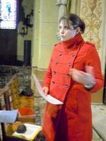 Emeline Grisoni, archéologue