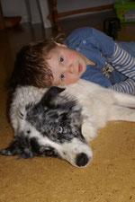 Felix mit Luna