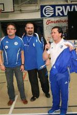 Auch Willi Landraf (rechts) bedankte sich bei den Organisatoren