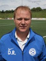 Trainer Dirk Rovers