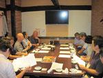 第2回会議では大勢のクラブ関係者が集まってくださいました。
