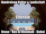 Rundreisen Ras al Khaimah Dubai Abu Dhabi mit Flug buchen