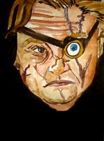 Alastor Moody, dibuix de Pol Peiró.