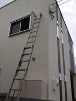 はしごによる高所作業