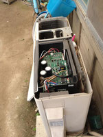 徳島市のエアコン室外機の修理