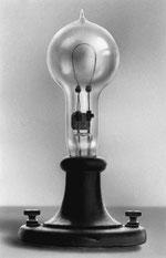 La lampe à incandescence