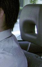 ヘッドレスト 交通安全 事故防止