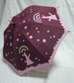 今回のために3本日傘を染めました。そのうちの1本です。