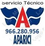 Servicio Técnico Aparici Alicante