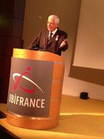 Alain Cousin au siège d'Ubifrance, Paris le 12 juillet 2013