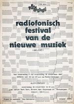 Radiofonisch Festival, 1987, Guy Schraenen Archive for Small Press & Communication A.S.P.C.