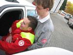 Rautek - Rettungsgriff zum Retten aus dem Fahrzeug