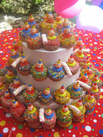 muffins multicolor