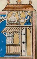Maciejowski-Bibel: Folio 42v