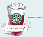 Starbucks' Red Cup Christmas Promotion