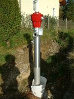 Hydrant neu in Penken