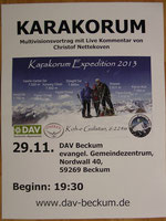 Karakorum Expedition 2013