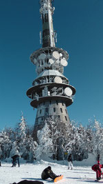Der Ochsenkopf 1024m. im Naturpark Fichtelgebirge