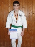 Roman Pogreban, 3.Platz bei der Bezirksmeisterschaft U18 in Kleve am 03.02.2013