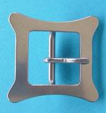 Nr. 43 Schließe Edelstahl 36 x 36 mm von Alois Achatz Pferdeartikel / Horse Products