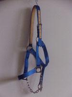 Nr. 55 Nylonhalfter für Kaltblut mit Edelstahlkette von Alois Achatz Pferdeartikel / Horse Products