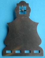 Nr. 48 Schwungriemenplatte Edelstahl von Alois Achatz Pferdeartikel / Horse Products
