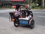 タクシー代わりのトライシクル