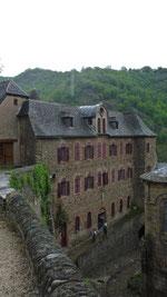 Conques,Sainte-Foy, gr65, compostelle